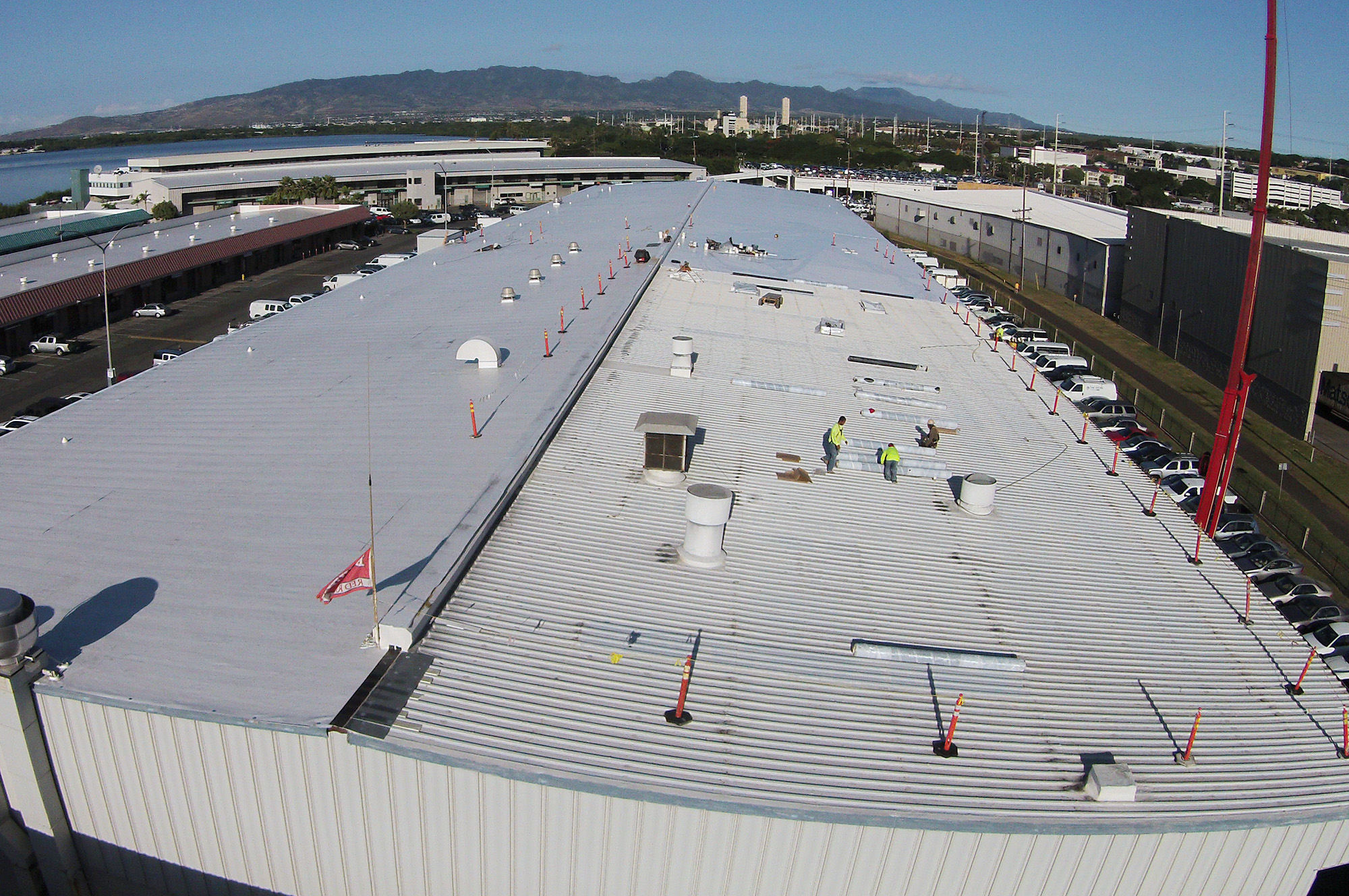 Harbor Front commercial roofing project
